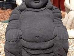 FJR032 Laughing Fat Buddha Black