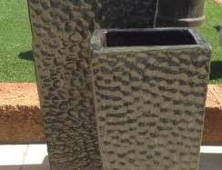 Green Dimpled Entrance Pots TTP3752