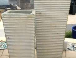 Ribbed Entrance Creme TTP3106