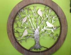 11711WAL Galvanised Tree of Life