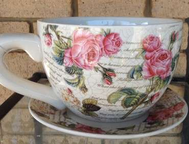 28002CUP Classic Rose Teacup