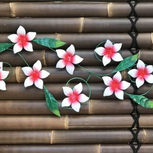 IR711L Red Frangipani on Wire