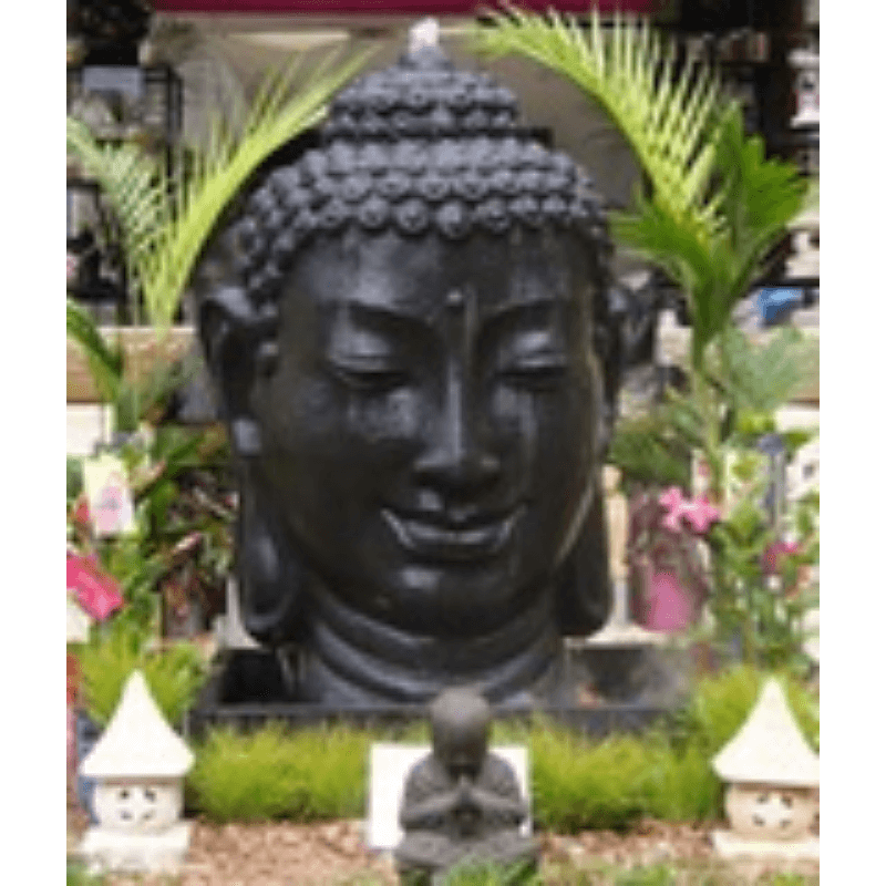 FIA035 Black Budha Head