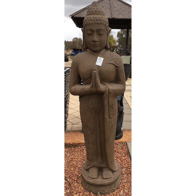 GS2002 Antique Standing Buddha
