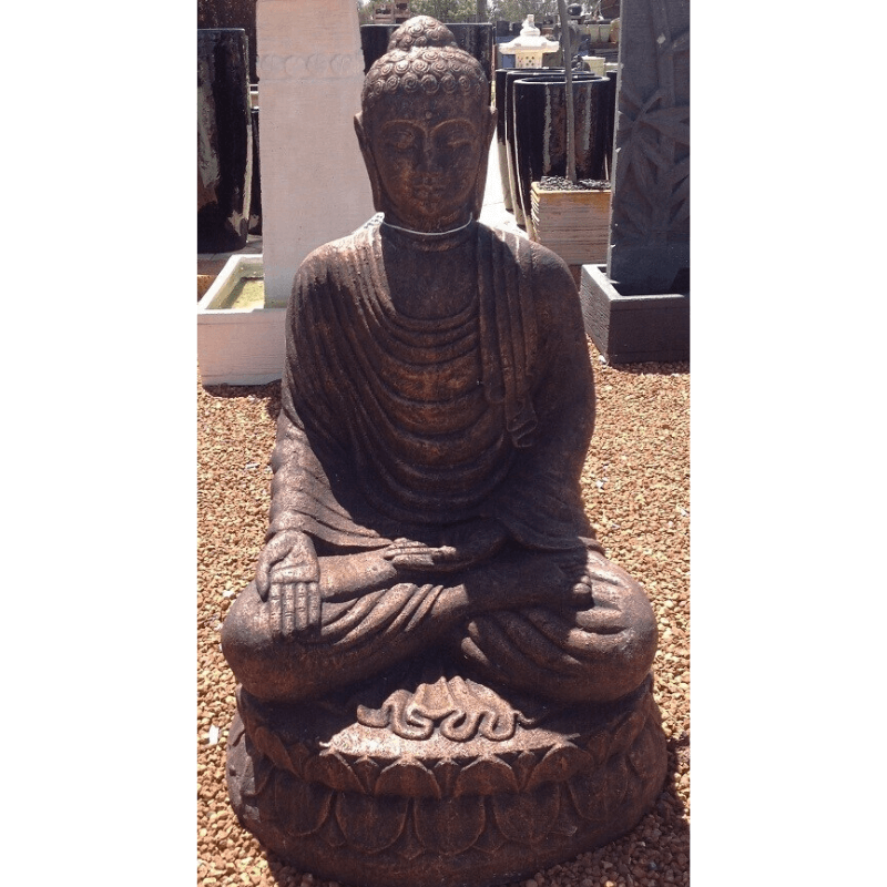 SGR152 Sitting Copper Buddha